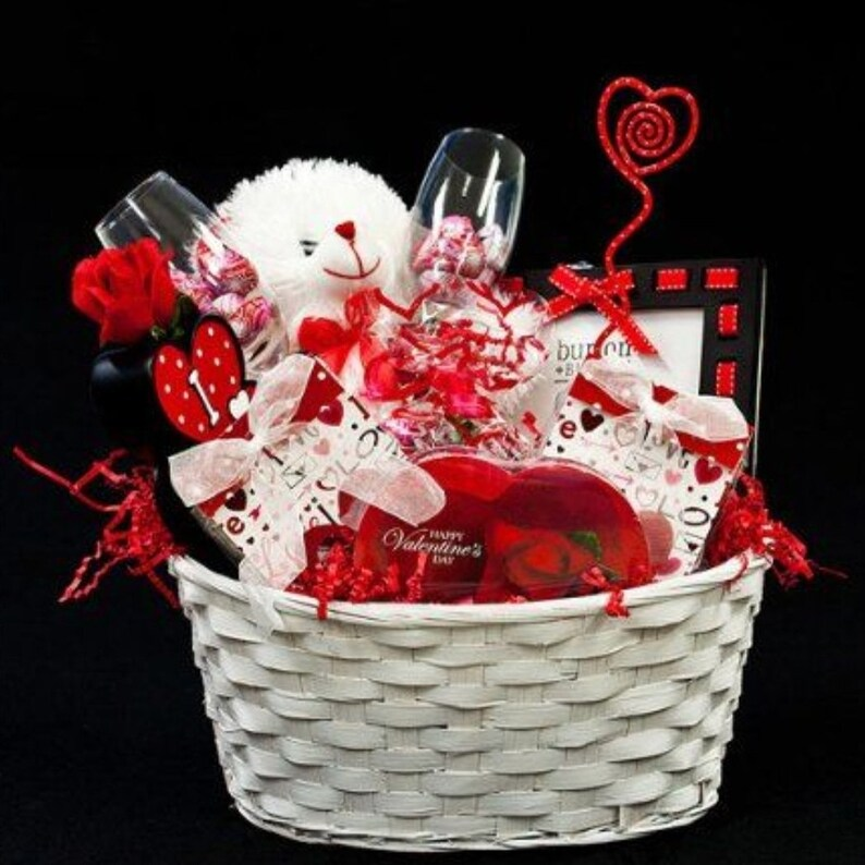 Custom Valentines's Day Baskets