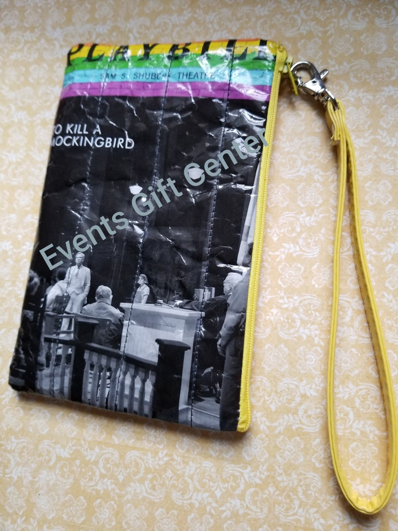 To Kill A Mockingbird  on Broadway  Re-purposed Playbill Pouch