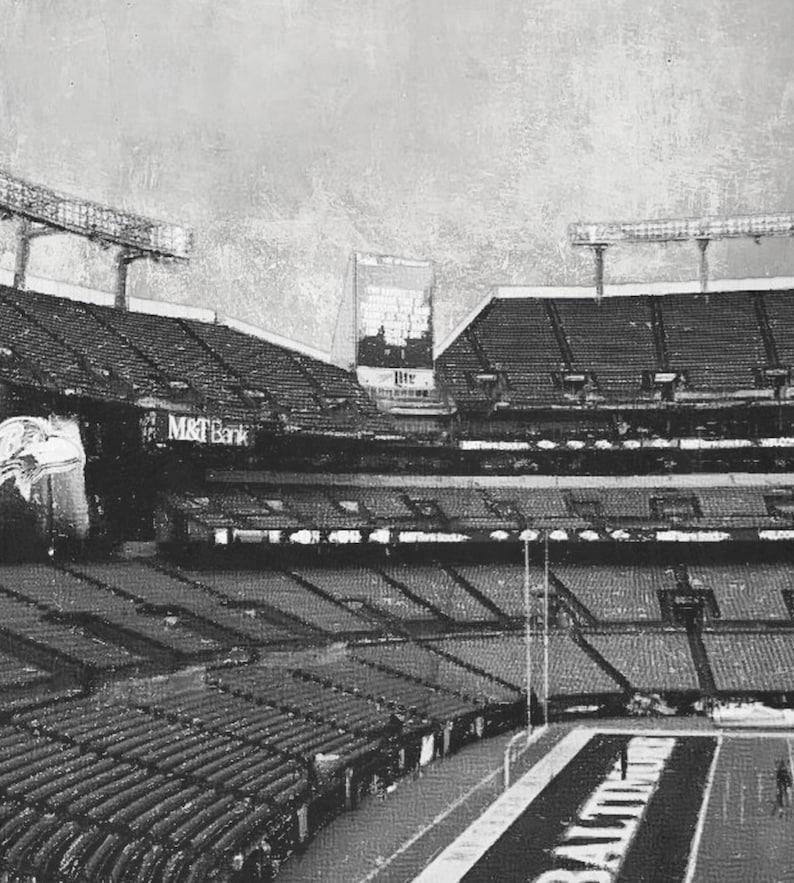 Sketch Design M/&T Bank Stadium Football Wall Art Black White Modern Art Home Decor Baltimore Ravens Printable Download
