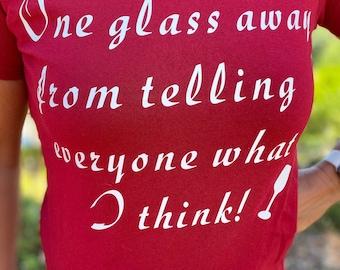 Funny drinking Novelty T-Shirt Women's