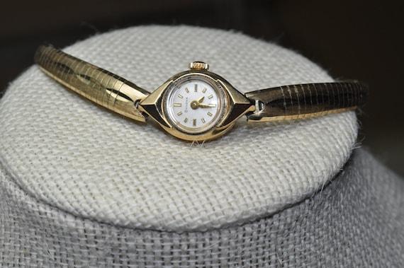 Ladies Bulova goldtone watch