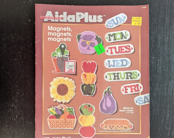 Aida Plus - Magnets Magnets Magnets - Designs by Zweigart - Leaflet 4768