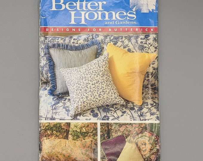 Better Homes and Gardens Designs for Butterick  4593 -  Uncut Sewing Pattern for Pillows
