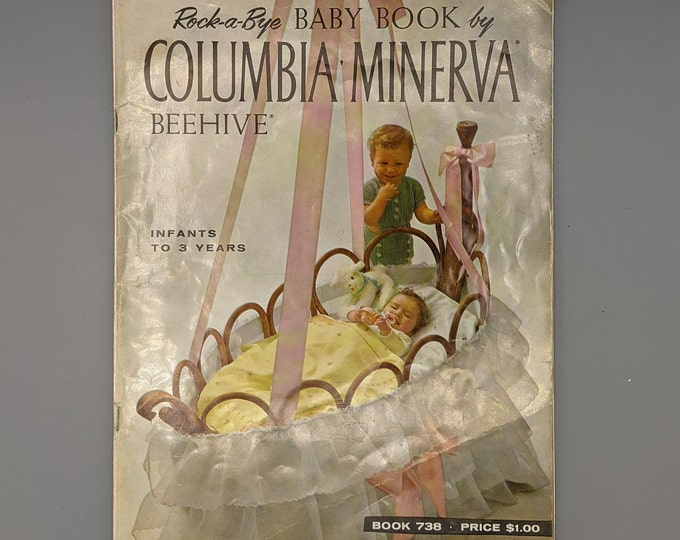 Rock-A-Bye Baby Book by Columbia Minerva - Book 738 - Copyright 1972
