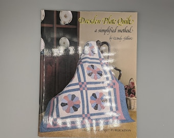 A Simplified Method Like New. Dresden Plate Quilt Book by Wendy Gilbert Quilt in a Day