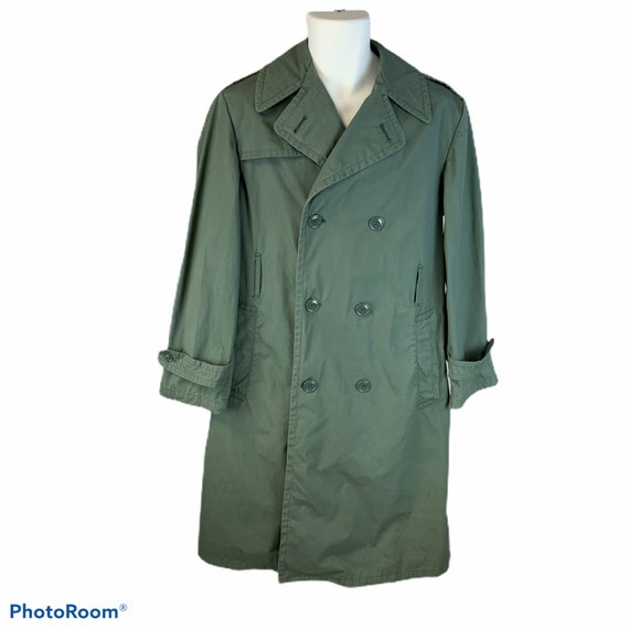 Vintage military issue trench/raincoat size 36R