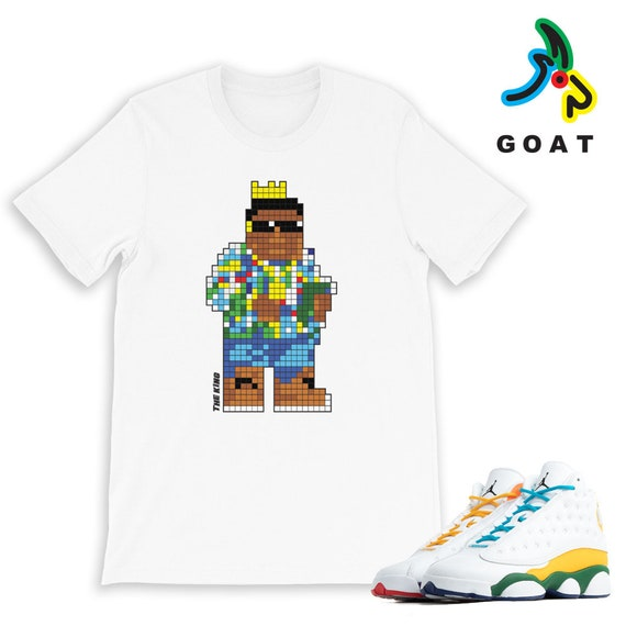 Air Jordan 13 Retro Gs Playground T Shirt Jordan Etsy