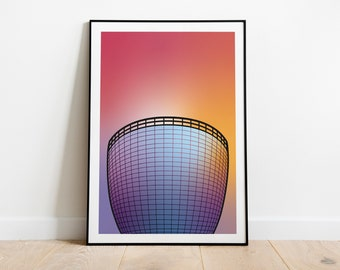 Artprint 'Radiant Gradient   The Pot'