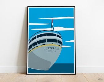Artprint 'Roffa State of Mind   SS Rotterdam'