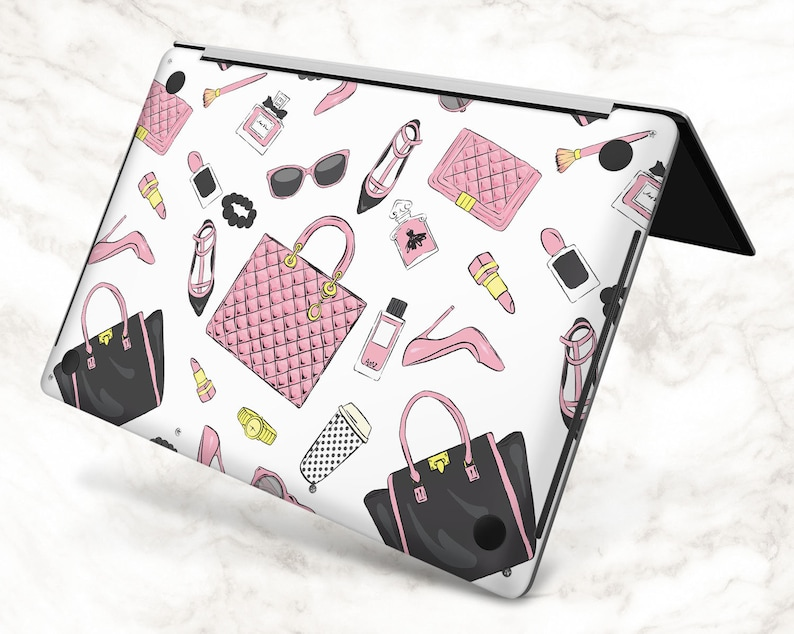 Fashion decal macbook skin 13 inch girl macbook decal Mac Book Cover air 11 2020 apple macbook pro 15 macbook 16 sticker 2019 macbook pro 13