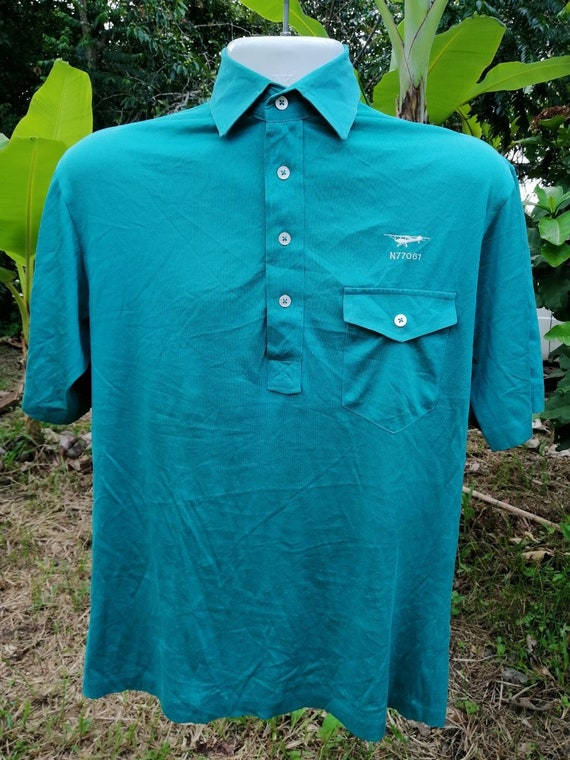 Express Shipping - 80s-90s Vintage Polo Airplane M