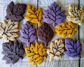 Fall leaves cookies | Thanksgiving cookies | Friendgiving | cookie gift