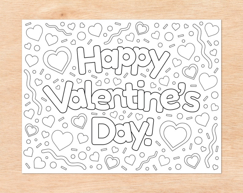 Instant Download Things I Love Creative Writing Activity Happy Valentine S Day Printable Coloring Sheets I Love You Kids Coloring Pages Toys Games Toys Senerval Eu