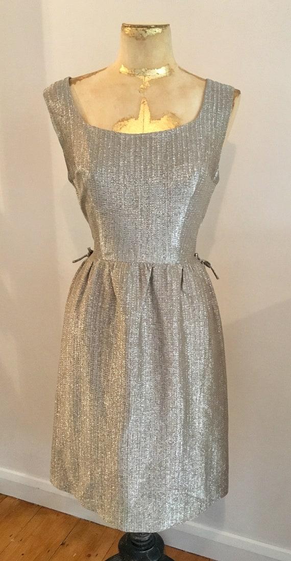 50s Gold Dress