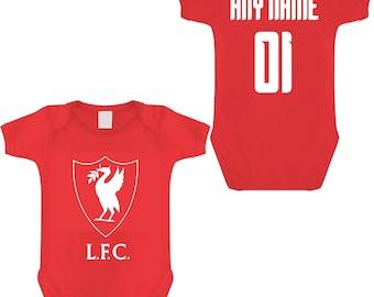 Scousers Vest Liverpool/'s Cutest Fan Football Babygrow Infants Gift Kids