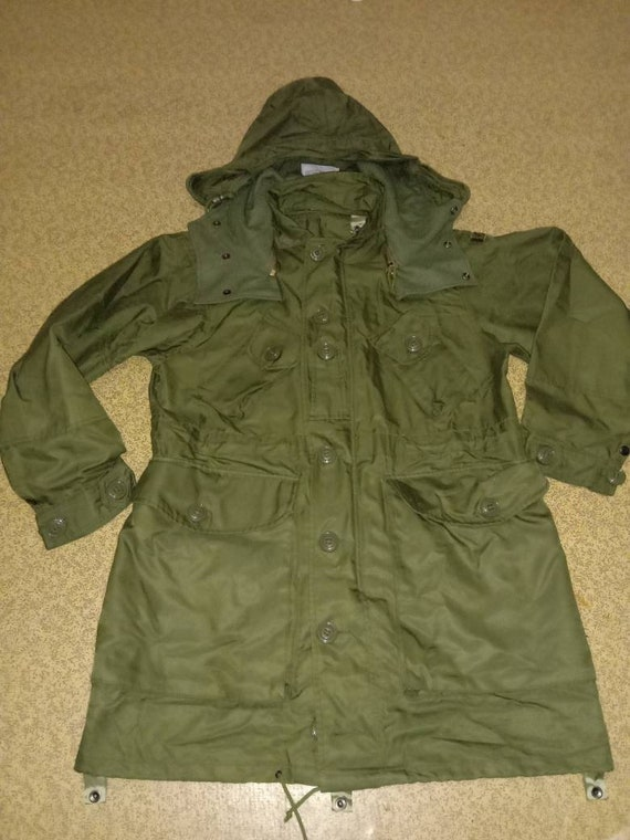 Canadian army combat parka with liner military sur