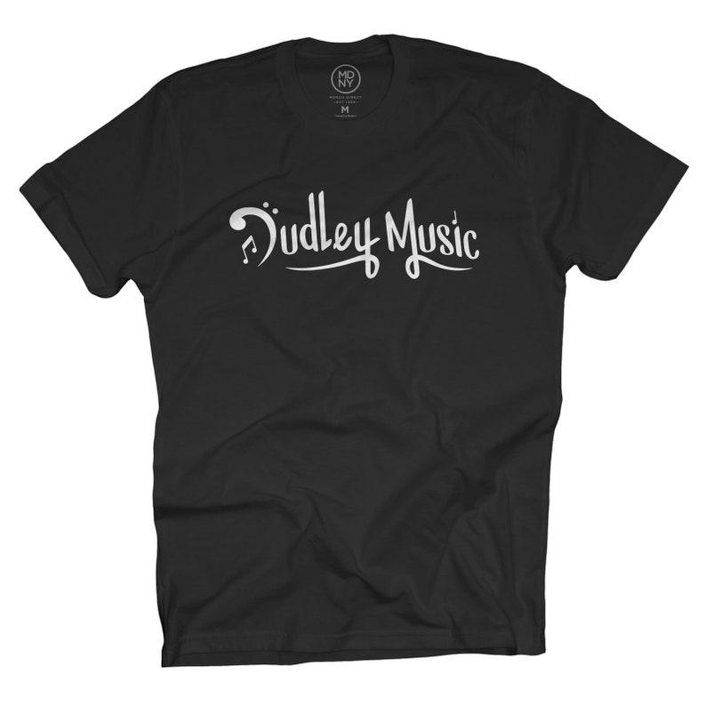 Dudley Music  Black T-Shirt image 0