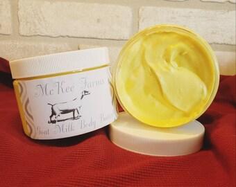 Homemade Goat's Milk Body Butter