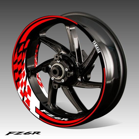 Wheel Rim Stickers Decals Rim Motorcycle Car Bicycle Rims Rings Rim Tape