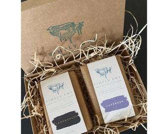 Gift Box - Lavender & Lemongrass Soap