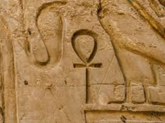 Die ägyptische Ankh oder Schlüssel des Lebens   Etsy