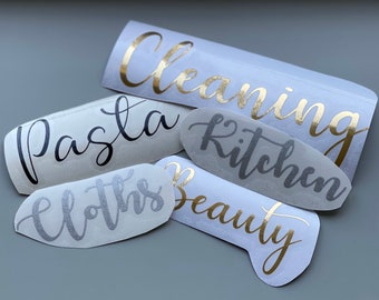 Personalised Decals
