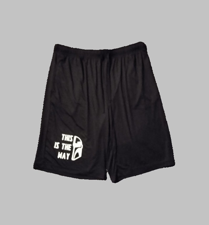 Star Wars The Mandalorian This Is The Way Mando and The Child Men and Women/'s 32 Degrees SleepLounge Shorts