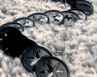 Black Metal Planner Discs