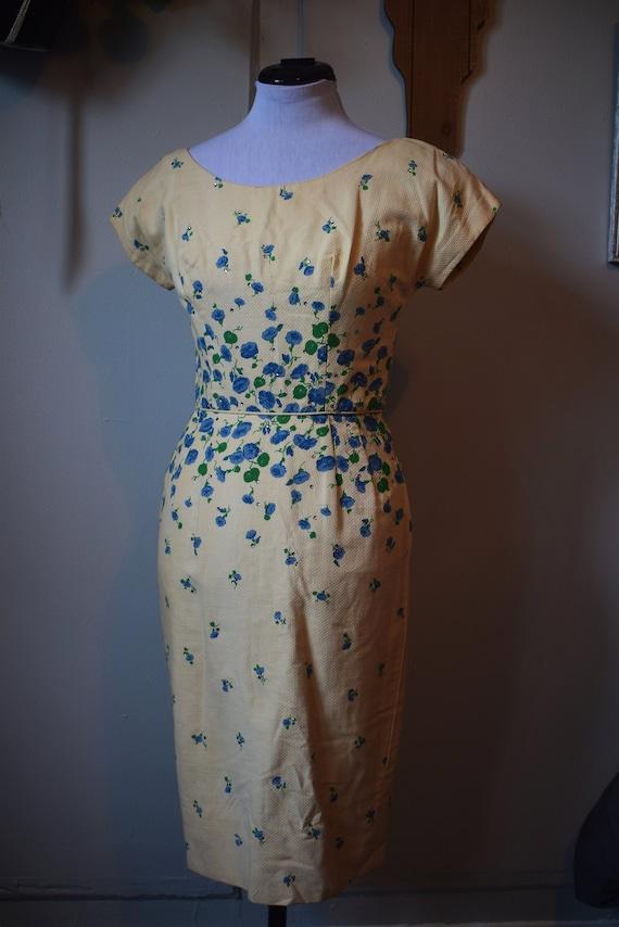 1950s Flower Dress