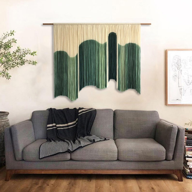 Green Wall Hanging Tapestry