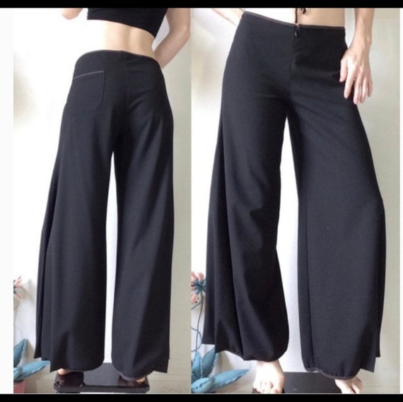 Cop Copine wide leg crop pants