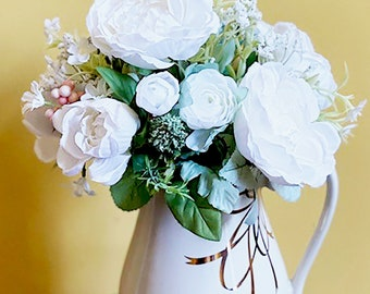 Floral Arrangement /Flower Arrangement / Silk Flower Arrangement / Any Occasion Floral Arrangement