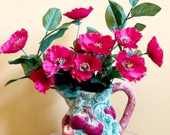 Apply a Day Floral Arrangement /Flower Arrangement / Silk Flower Arrangement /Florals