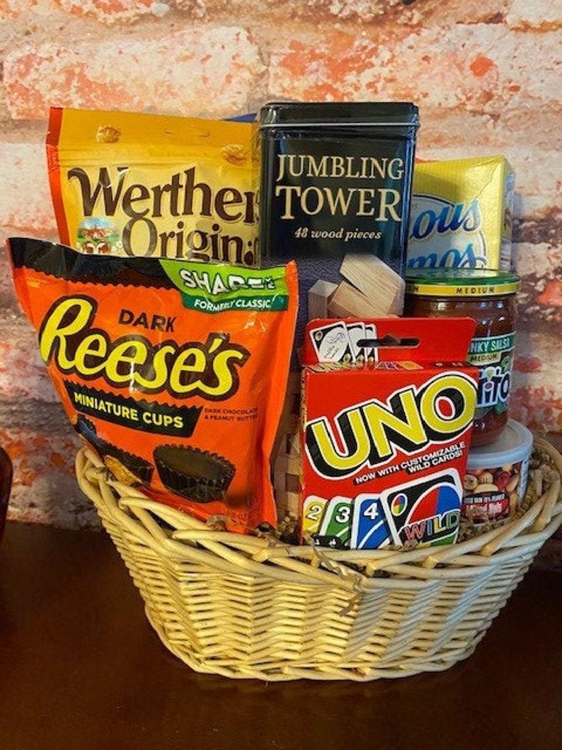 Family Game Night Gift Basket /Gift Basket / Games Gift Basket image 0