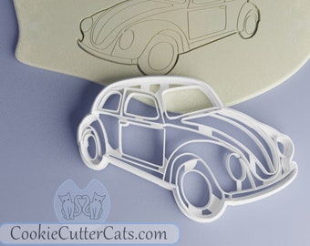 Cookie Cutter//Cookie in the form of a VW Beetle
