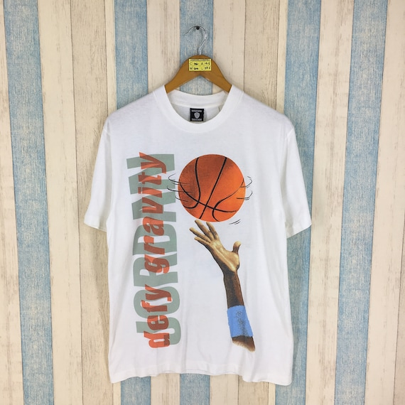 Looney Tunes Space Jam Tshirt Medium Vintage 90's