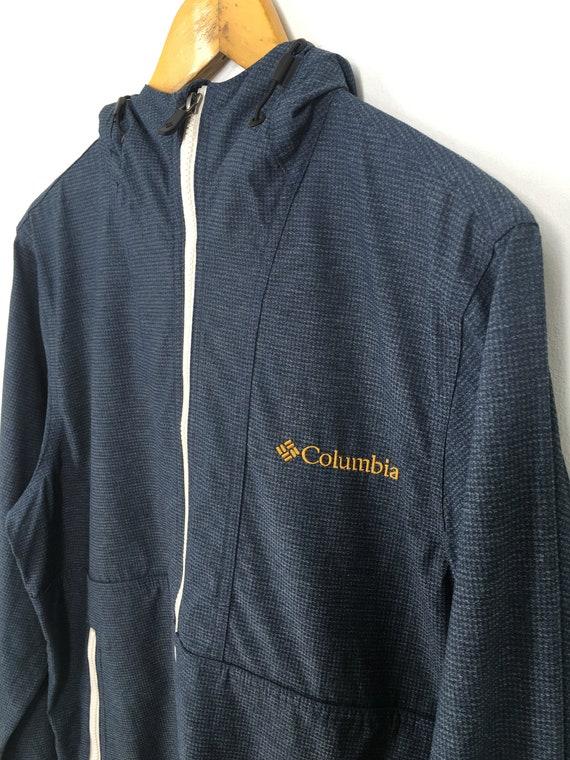 COLUMBIA Sportswear Mens Jacket Windbreaker Xlarge Vintage 90s Columbia Outdoor Trainer Multicolor Activewear Windrunner Size XL