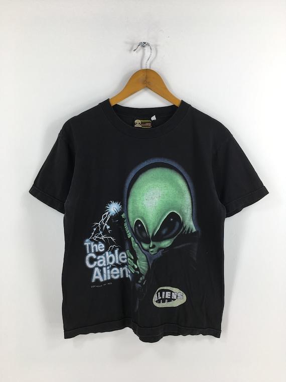 Vintage Alien Workshop T shirt Medium 90's Alienat
