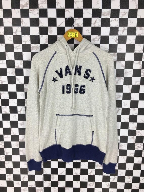 Vans Hoodie Sweatshirt Medium Vintage 90's Vans O… - image 1