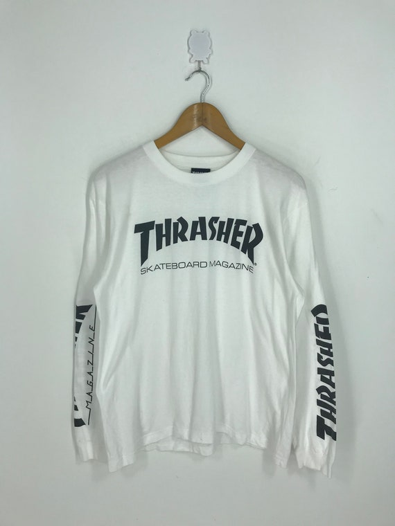 Vintage Thrasher Magazine T shirt Medium Thrasher