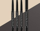 New Eyebrow pencil with 6 different colors to choose from. This Double sided eyebrow cosmetics naturally lasts longer