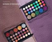 Popfeel professional eyeshadow glitter Galaxy palette