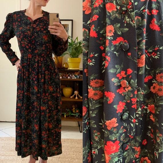 Laura Ashley vintage long dress