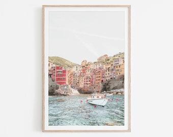 Cinque Terre Print, Cinque Terre Wall Art, Italy Photo Art, Italy Print, Italy Poster, Riomaggiore Liguria Printable Art, Digital Download