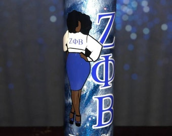 Zeta Phi Beta Lady Tumbler | Zeta Tumbler