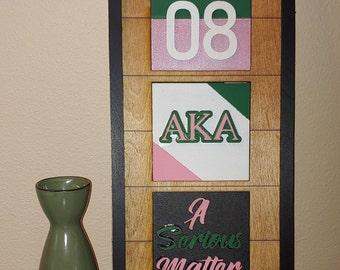 DIY Leaning Ladder Kit : Alpha Kappa Alpha