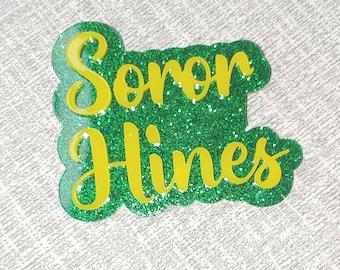 CUSTOM pin | Badge | Lapel pin | Soror pin | Sorority Pin