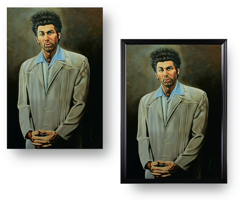 The Kramer Painting Large Heavy Print 12 x 18 Seinfeld