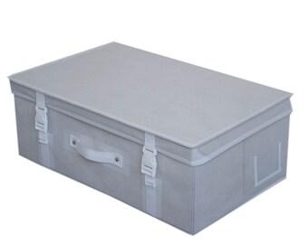 Wedding dress storage Airline Travel box Black// White or Silver //White AF tissue