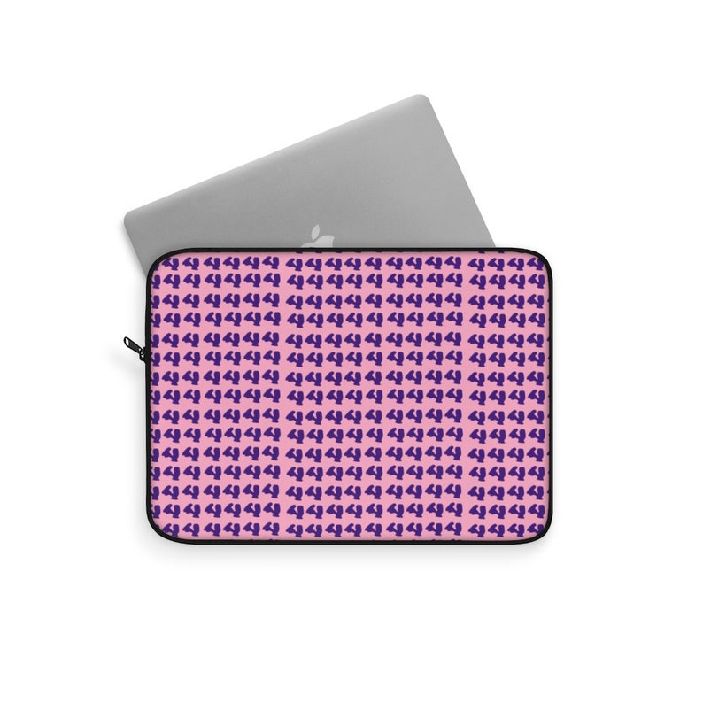 Cool Art Laptop Sleeve 30 pop art NunoNevesStore Retro custom gift line art cute laptop sleeves